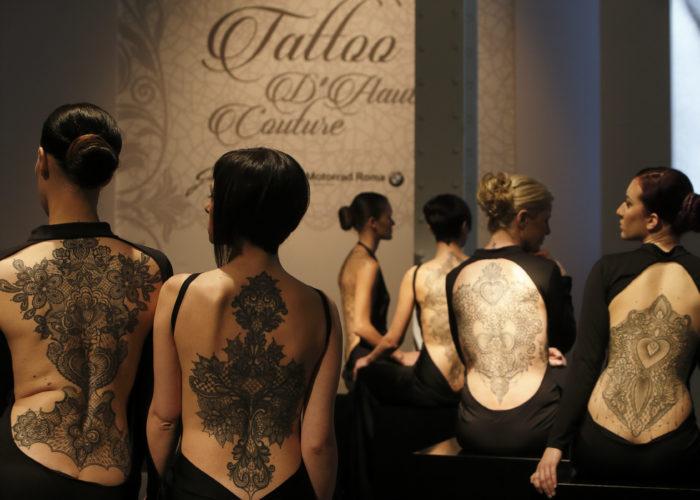 Roma: Il tatuaggio d'autore entra in Alta Moda