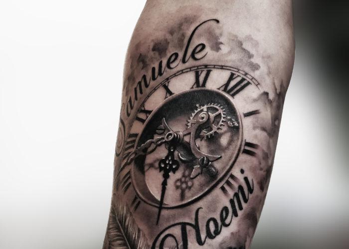 Tatuaggio realistico a Roma