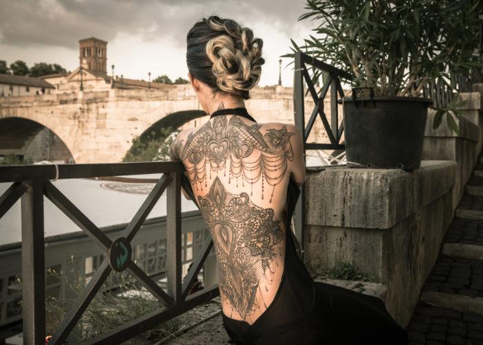 Roma: Tatuaggi in Biennale