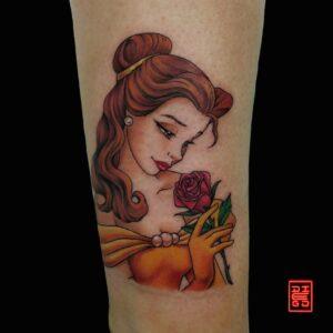 tatuatore cartoon roma