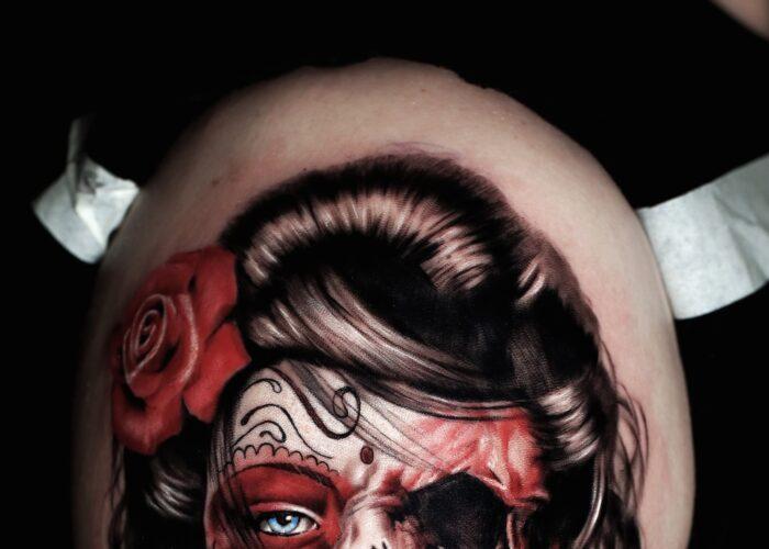 Ultimo tatuaggio ritratto a Roma